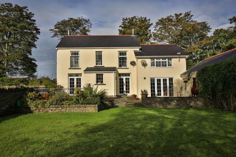 4 Bedrooms Detached House for sale in Tavern Y Coed, Tonteg, Pontypridd