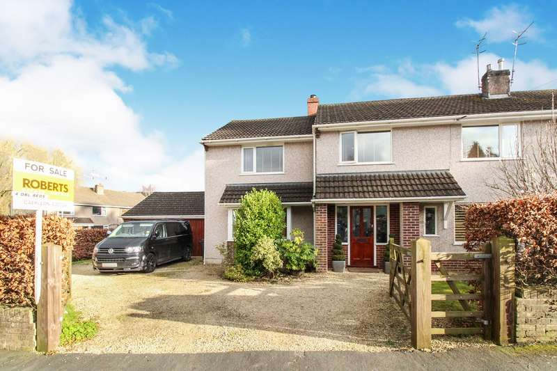 4 Bedrooms Semi Detached House for sale in Tanhouse Drive, Caerleon, Newport, NP18