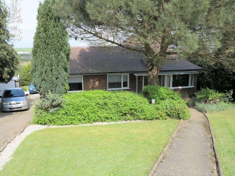 3 Bedrooms Detached Bungalow for sale in Laceyfields Road , Heanor , Derbyshire, DE75 7HJ