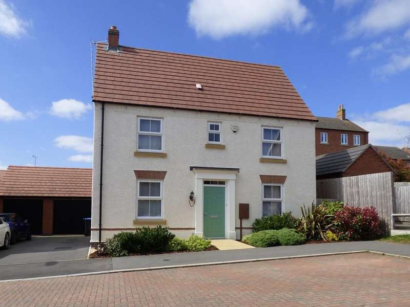 3 Bedrooms Detached House for sale in Dairy Way, Kibworth