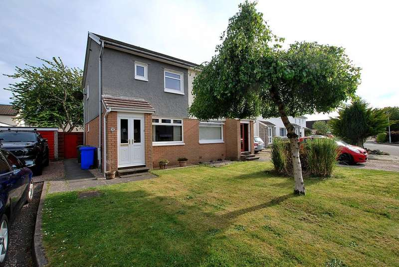 2 Bedrooms Semi Detached House for sale in 12 Greenan Park, Doonfoot, AYR, KA7 4EL