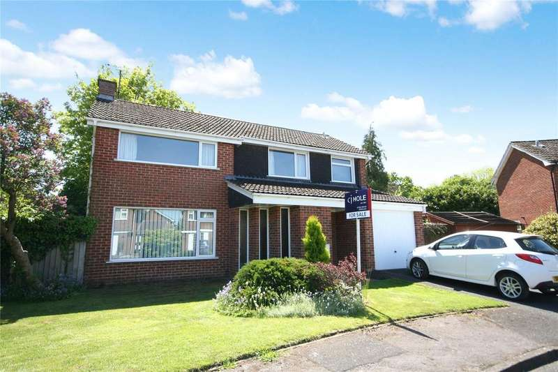 4 Bedrooms Detached House for sale in Branch Hill Rise, Charlton Kings, Cheltenham, GL53