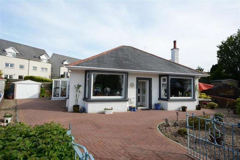 2 Bedrooms Detached Bungalow for sale in 18 Noddleburn Road, Largs, KA30 8PY