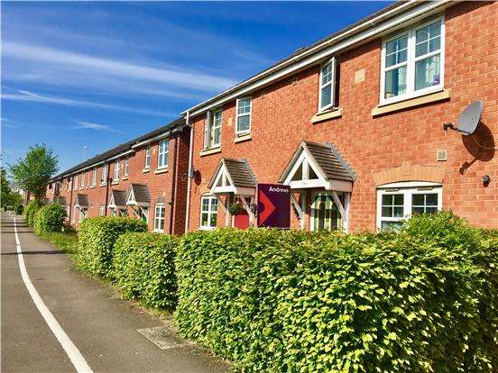 2 Bedrooms Terraced House for sale in Davey Walk, Northway, Gloucestershire, GL20 8UP