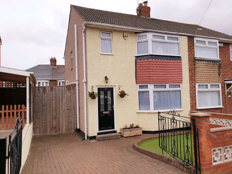 3 Bedrooms Semi Detached House for sale in Milburn Crescent, Norton, Co. Durham, TS20 2DN