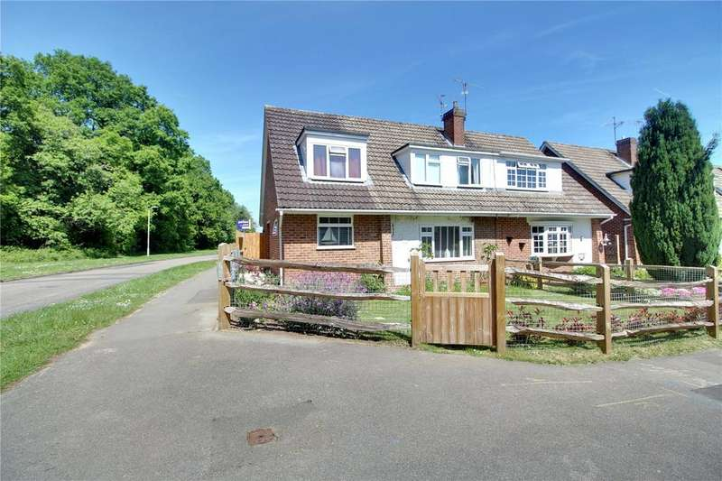 4 Bedrooms Semi Detached House for sale in Kingfisher Drive, Woodley, Reading, Berkshire, RG5