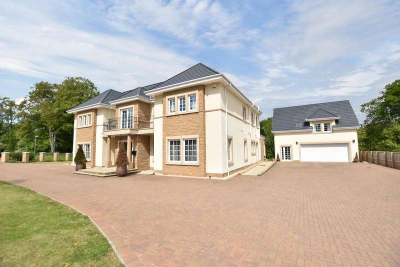 5 Bedrooms Detached Villa House for sale in 1 Pollock Morris Drive, Gatehead, KA2 0EJ