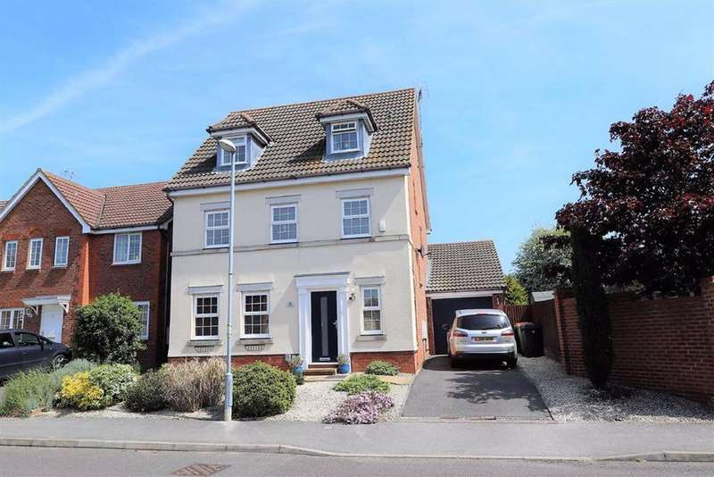 5 Bedrooms Detached House for sale in Middleton Way, Leighton Buzzard