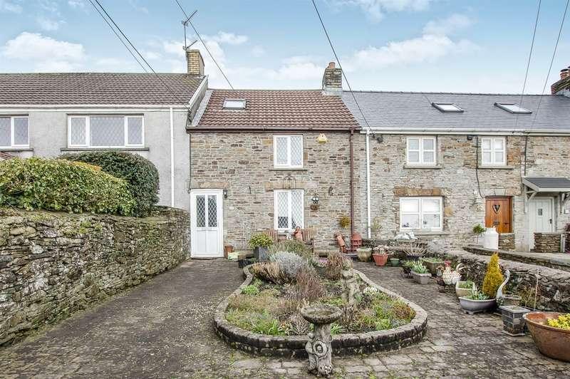 3 Bedrooms Cottage House for sale in Whitehart Cottages, Llangynwyd, Maesteg