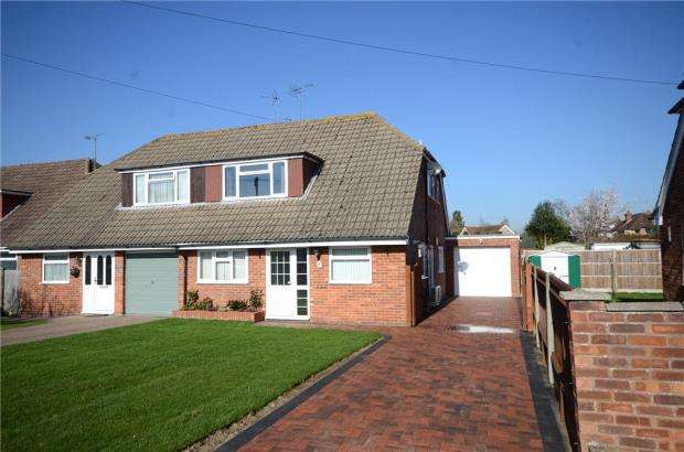 3 Bedrooms Semi Detached House for sale in Keswick Close, Tilehurst, Reading