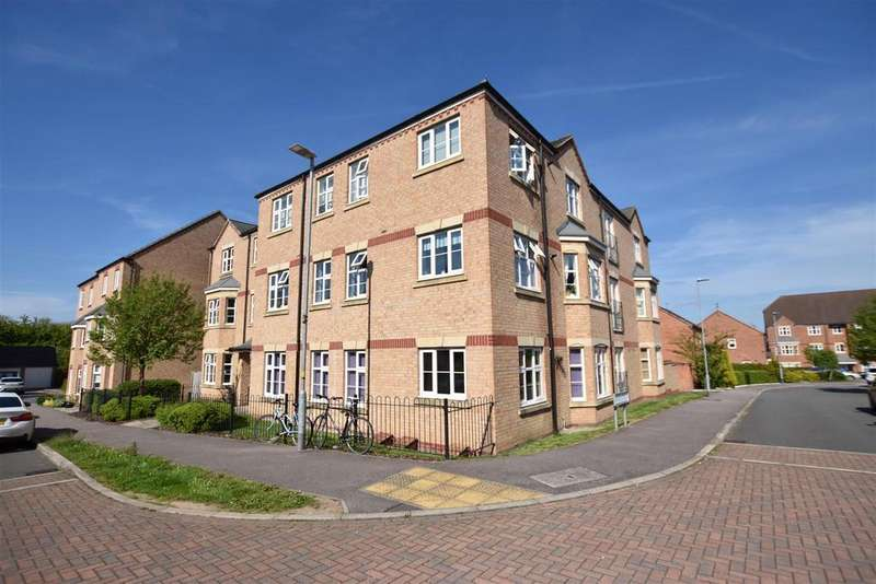 2 Bedrooms Apartment Flat for sale in Darwin Crescent, Loughborough