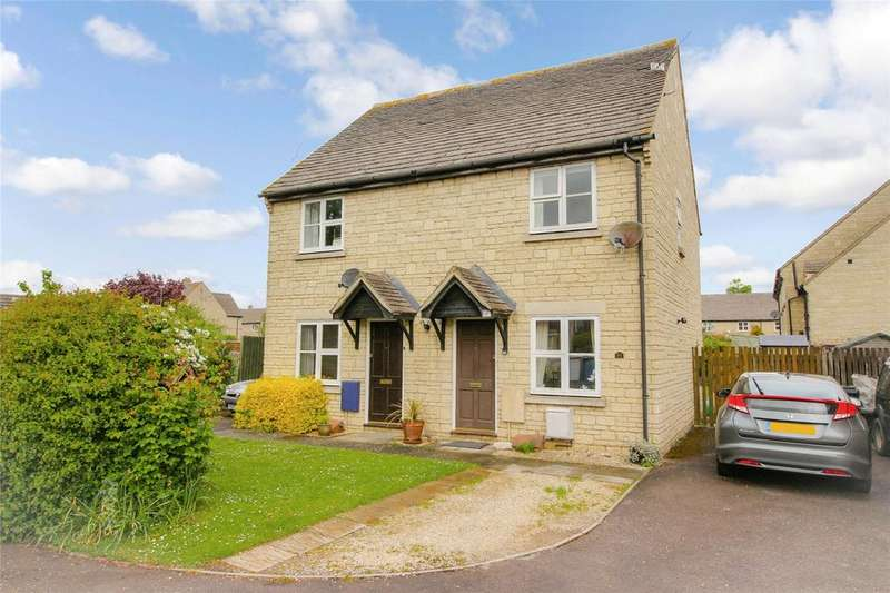 2 Bedrooms Semi Detached House for sale in Hatherop Road, Fairford, GL7
