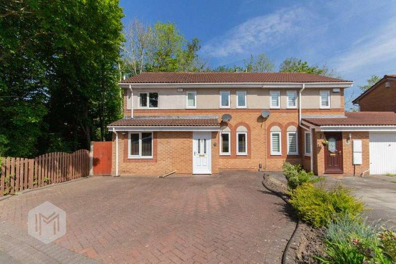 4 Bedrooms Semi Detached House for sale in Gleneagles, Bolton, Greater Manchester, BL3