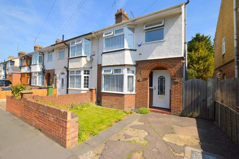 3 Bedrooms End Of Terrace House for sale in Alder Crescent, Leagrave, Luton, Bedfordshire, LU3 1TH