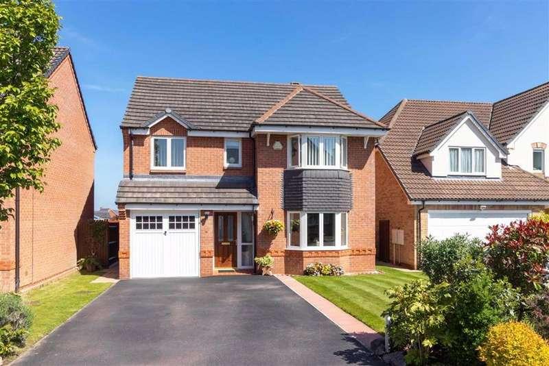 4 Bedrooms Detached House for sale in Kelham Close, Loughborough, LE11