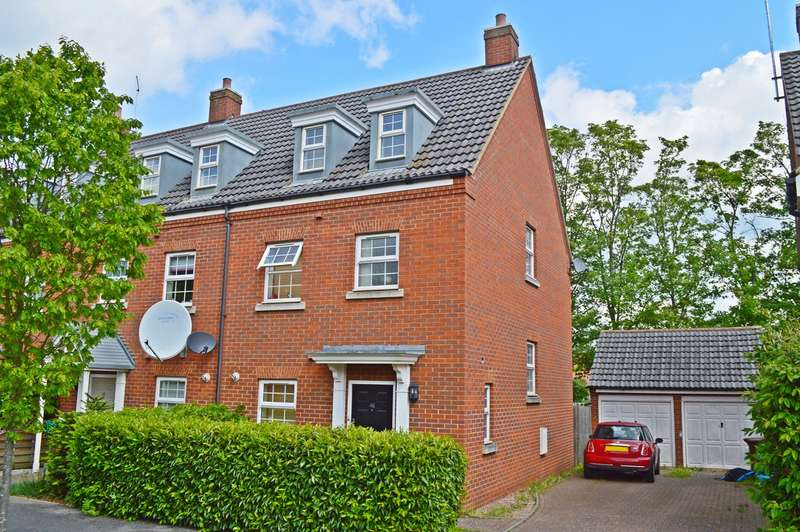 3 Bedrooms End Of Terrace House for sale in Langstone Ley, Welwyn Garden City, AL7