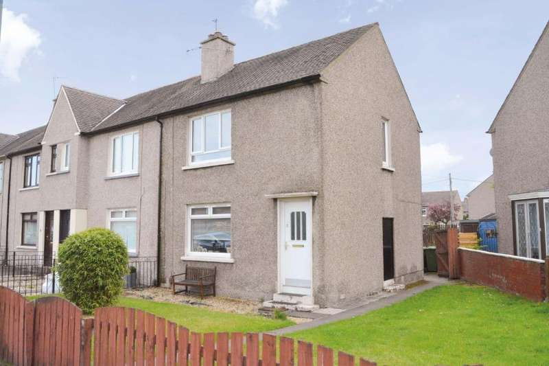2 Bedrooms End Of Terrace House for sale in Overton Road, Grangemouth, Falkirk, FK3 0LB