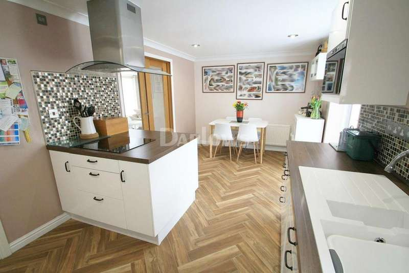 3 Bedrooms Semi Detached House for sale in Picton Place, Beaufort, Ebbw Vale, Gwent