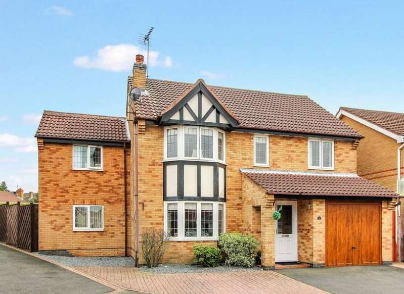 4 Bedrooms Detached House for sale in Robinson Way, Markfield