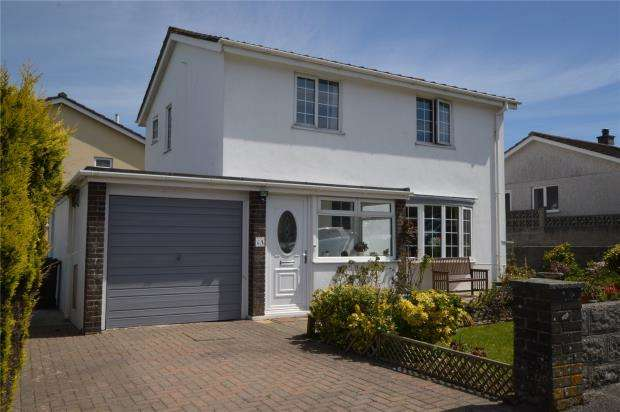 3 Bedrooms Detached House for sale in Pocohontas Crescent, Indian Queens, St. Columb, Cornwall