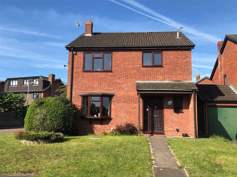 4 Bedrooms Detached House for sale in Saxby Close, Burghfield Common, Reading, Berkshire, RG7
