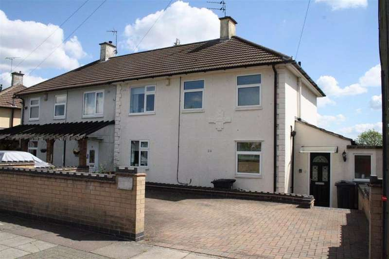 3 Bedrooms Semi Detached House for sale in Cuffling Drive, Braunstone Frith