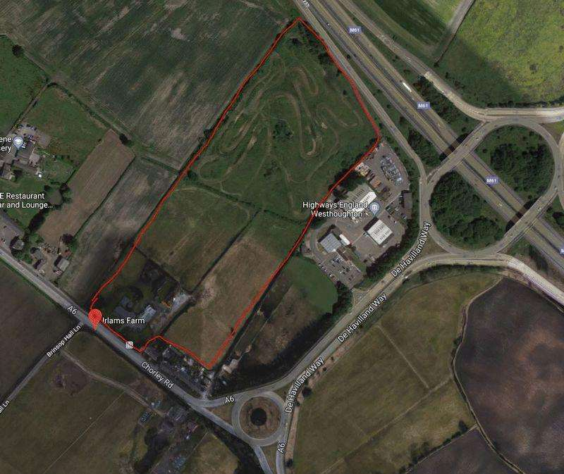 5 Bedrooms Land Commercial for sale in Irlams Farm, Chorley Road, Westhoughton, Bolton, Lancashire.