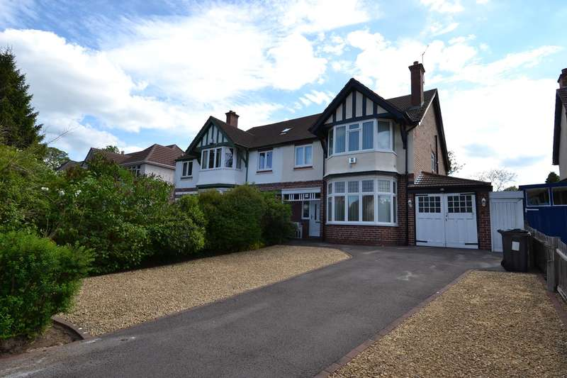 4 Bedrooms Semi Detached House for sale in Sandford Road, Moseley, Birmingham, B13