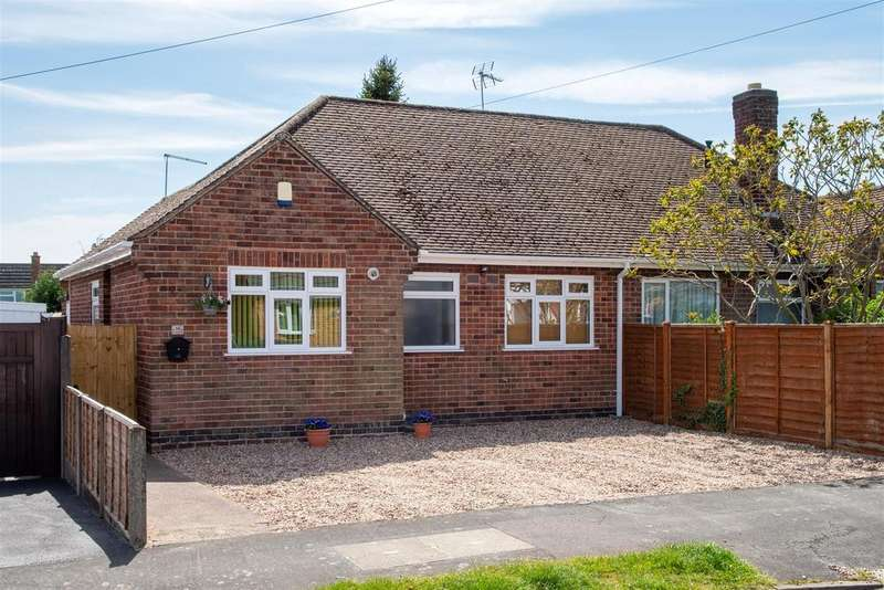 3 Bedrooms Semi Detached Bungalow for sale in Stoneycroft Road, Earl Shilton