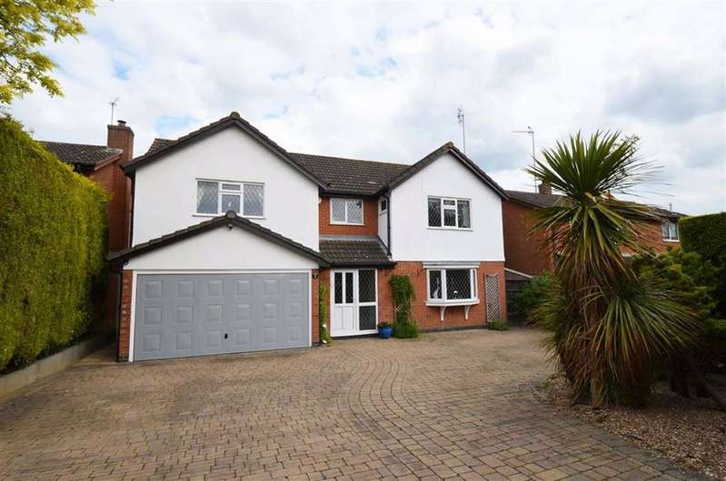 4 Bedrooms Detached House for sale in Coverdale Road, Wigston