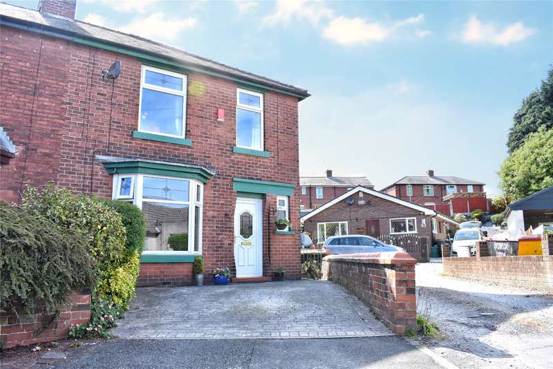 3 Bedrooms Semi Detached House for sale in Whalley Gardens, Rochdale, Greater Manchester, OL12