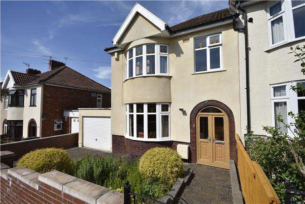 3 Bedrooms End Of Terrace House for sale in Sylvia Avenue, Knowle, Bristol, BS3 5BZ