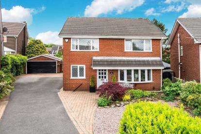 4 Bedrooms Detached House for sale in Bank Side, Westhoughton, Bolton, Greater Manchester, BL5