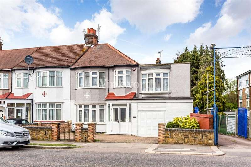 3 Bedrooms End Of Terrace House for sale in Hedge Lane, London, N13