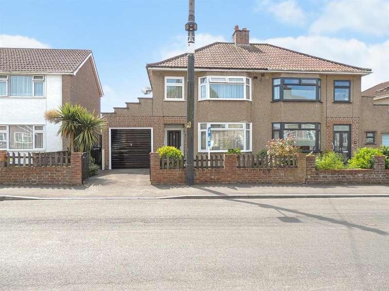 3 Bedrooms Semi Detached House for sale in Monkton Road, Hanham, Bristol