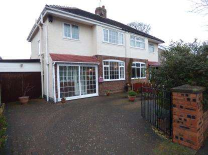 3 Bedrooms Semi Detached House for sale in Orchard Road, Whitby, Ellesmere Port, Cheshire, CH65