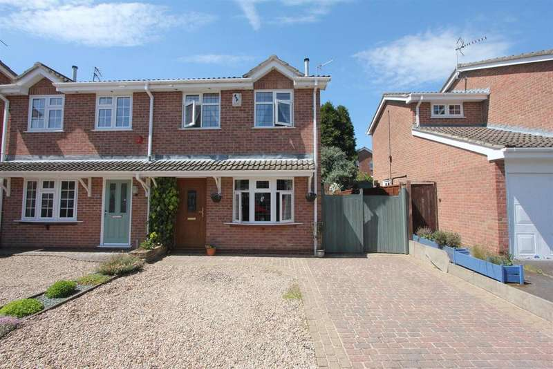 3 Bedrooms Semi Detached House for sale in Ashleigh Gardens, Barwell