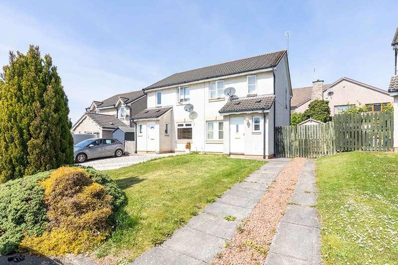 3 Bedrooms Semi-detached Villa House for sale in Newbyres Gardens, Gorebridge, Midlothian, EH23 4TG
