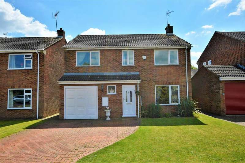4 Bedrooms Detached House for sale in Aberdeen Close, Stamford