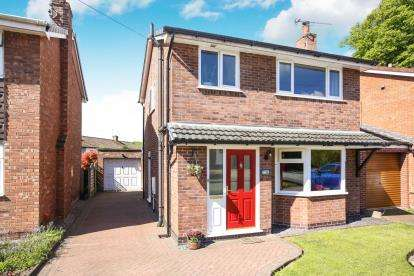 3 Bedrooms Detached House for sale in Charter Road, Bollington, Macclesfield, Cheshire