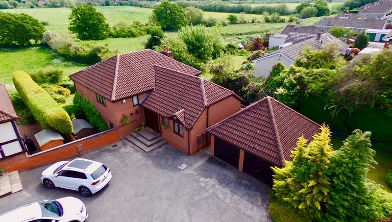 5 Bedrooms Detached House for sale in Winterburn Road, St Johns, Worcester, WR2