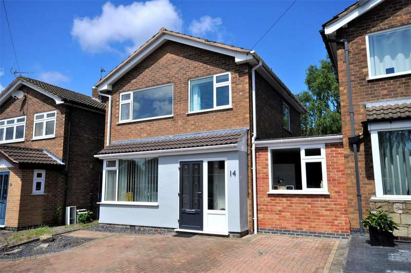 3 Bedrooms Detached House for sale in Valley Road, Melton Mowbray, Leicestershire