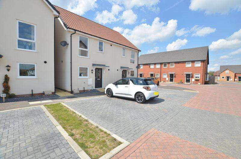 2 Bedrooms Semi Detached House for sale in Cherry Paddocks, Cherry Willingham, Lincoln