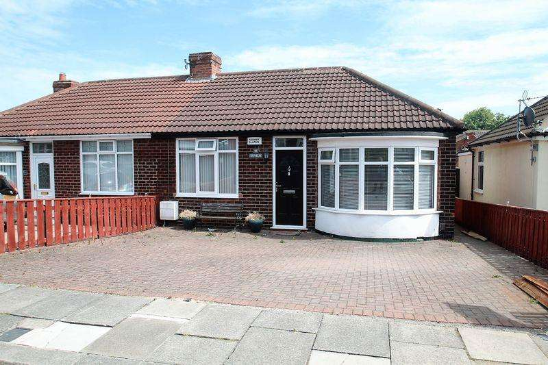 2 Bedrooms Semi Detached Bungalow for sale in St. Oswalds Crescent, Billingham