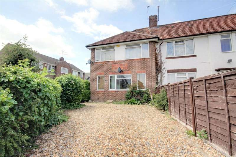 3 Bedrooms End Of Terrace House for sale in Heatherden Close, Reading, Berkshire, RG2