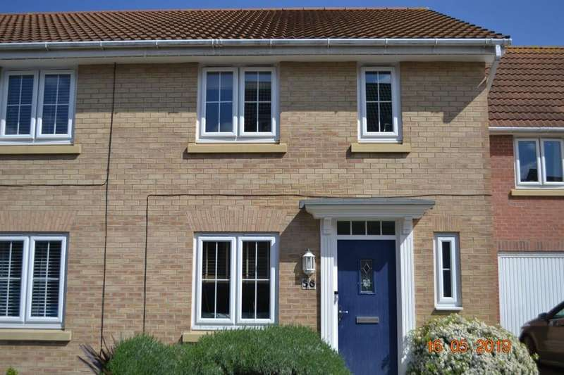 3 Bedrooms End Of Terrace House for sale in Coles Way, Grantham