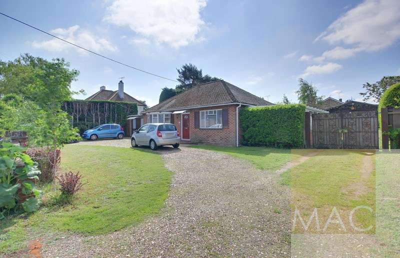 3 Bedrooms Detached Bungalow for sale in Thetford Road, Brandon