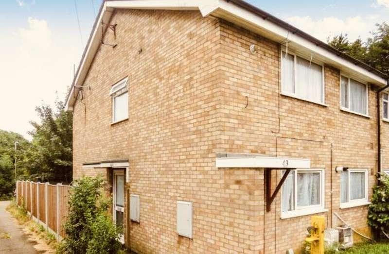 2 Bedrooms Maisonette Flat for sale in Strangers Way, Luton