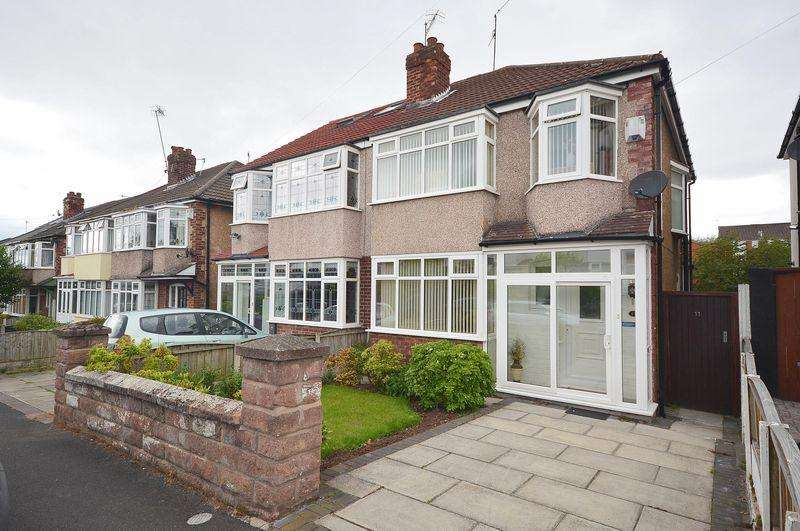 3 Bedrooms Semi Detached House for sale in Ashlar Road, Aigburth