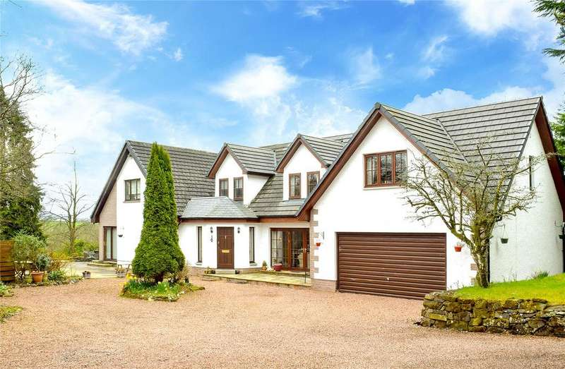 5 Bedrooms Detached House for sale in Endrick House, Balfron Station, Balfron